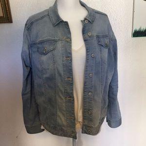 Express Jeans Denim Jacket Gently Used
